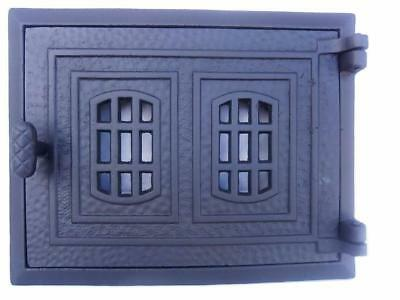 Cast Iron Fire Door Clay Bread Oven Pizza Stove Quality Grey (PG) 31,5 x 25