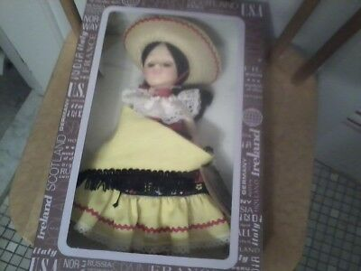 Effanbee dolls  Countries - 1118 MEXICO- new beautiful doll