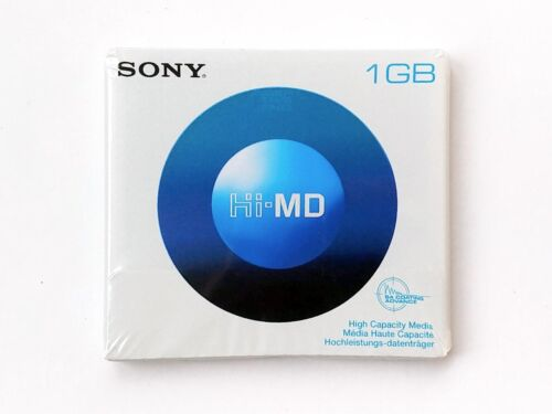 SONY Hi-MD HMD1GA Media MiniDisc Single (NEW)