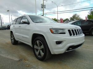 2014 Jeep Grand Cherokee Overland / ECO DIESEL / Tout Équipé