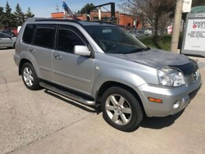 2006 Nissan X-trail SHIPPERS SPECIAL,LEATHER,S/ROOF,AWD,$3200