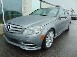 2011 Mercedes-Benz C-Class C 300 CUIR TOIT 4MATIC AWD LEATHER RO