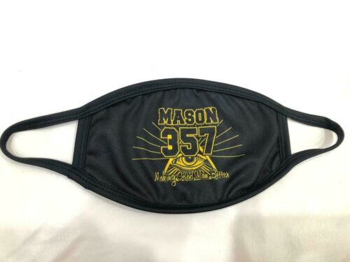MASONIC MASTER MASON FACE MASK, FREEMASON FACE MASK , MASON CUSTOM FACEMASK