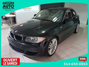 2011 BMW 1 Series 128i 6 CYL 3.0L * CUIR * TOIT OUVRANT * MAGS (