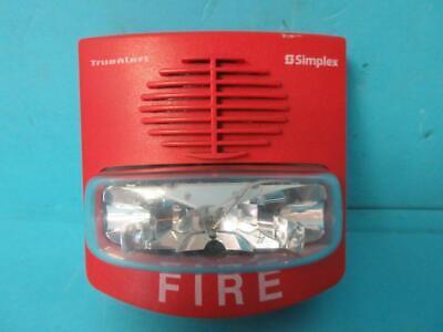 Simplex True Alert 4903-9426 Hornstrobe Fire Alarm Alert Audible Red Works