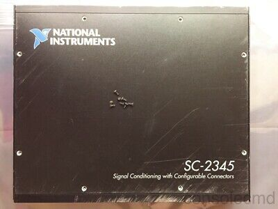Ni National Instruments Sc-2345 Signal Conditioning Scc Enclosure W Scc-pwr01
