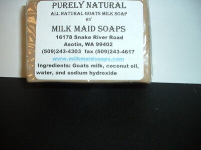 Purely Natural Goats Milk Soap