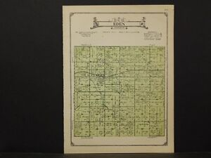 Iowa, Carroll County Map, 1923, Township of Eden, K2#67