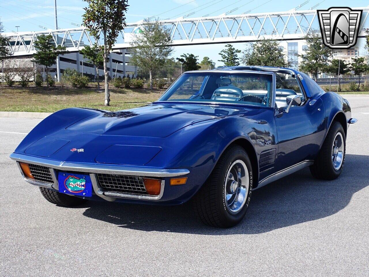 1972 Blue Chevrolet Corvette Stingray  | C3 Corvette Photo 5