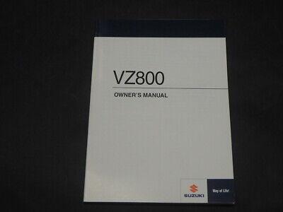 SUZUKI VZ800 L0 2010 OWNER'S OWNER MANUAL 99011-39G55