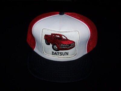 Datsun Truck Vintage Snapback hat 1980s mesh back truckers cap ab661d347310