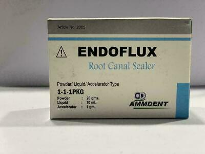 Ammdent Endoflux Root Canal Sealer Powderliquidaccelerator Type.