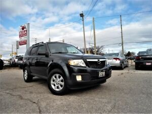 2010 Mazda Tribute AUTO 4WD SUNROOF LEATHER BLUETOOTH BACK UP CA