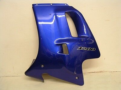 TRIUMPH TROPHY 1200 LEFT HAND SIDE FAIRING PANEL NIGHTSHADE   WILL FIT