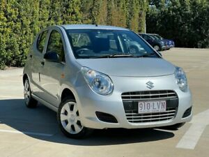 2009 Suzuki Alto GF GL Silver 4 Speed Automatic Hatchback South Toowoomba Toowoomba City Preview