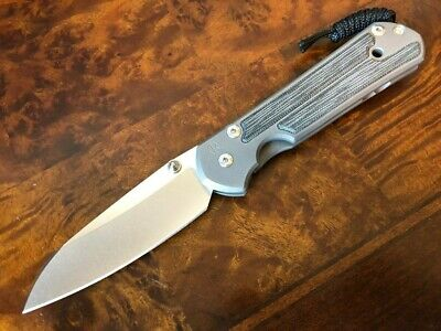 Chris Reeve Knives Large Sebenza 21 Insingo Black Micarta L21-1148