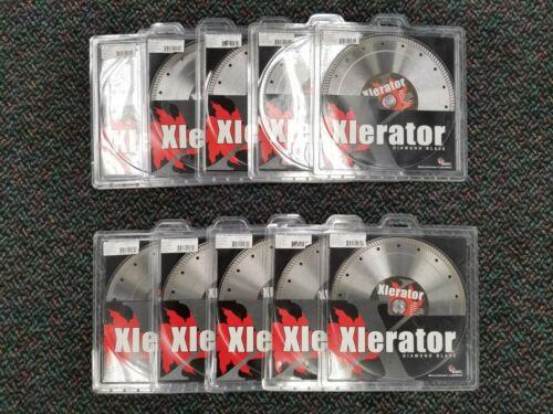 "10"" Xlerator Porcelain & Stone Diamond Blade - Contractor"