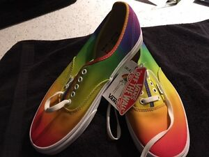 Vans, Rainbow - new with tags - never worn