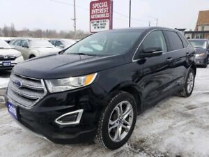 2018 Ford Edge Titanium AWD !!  HEATED LEATHER !!  BLUE TOOTH !!