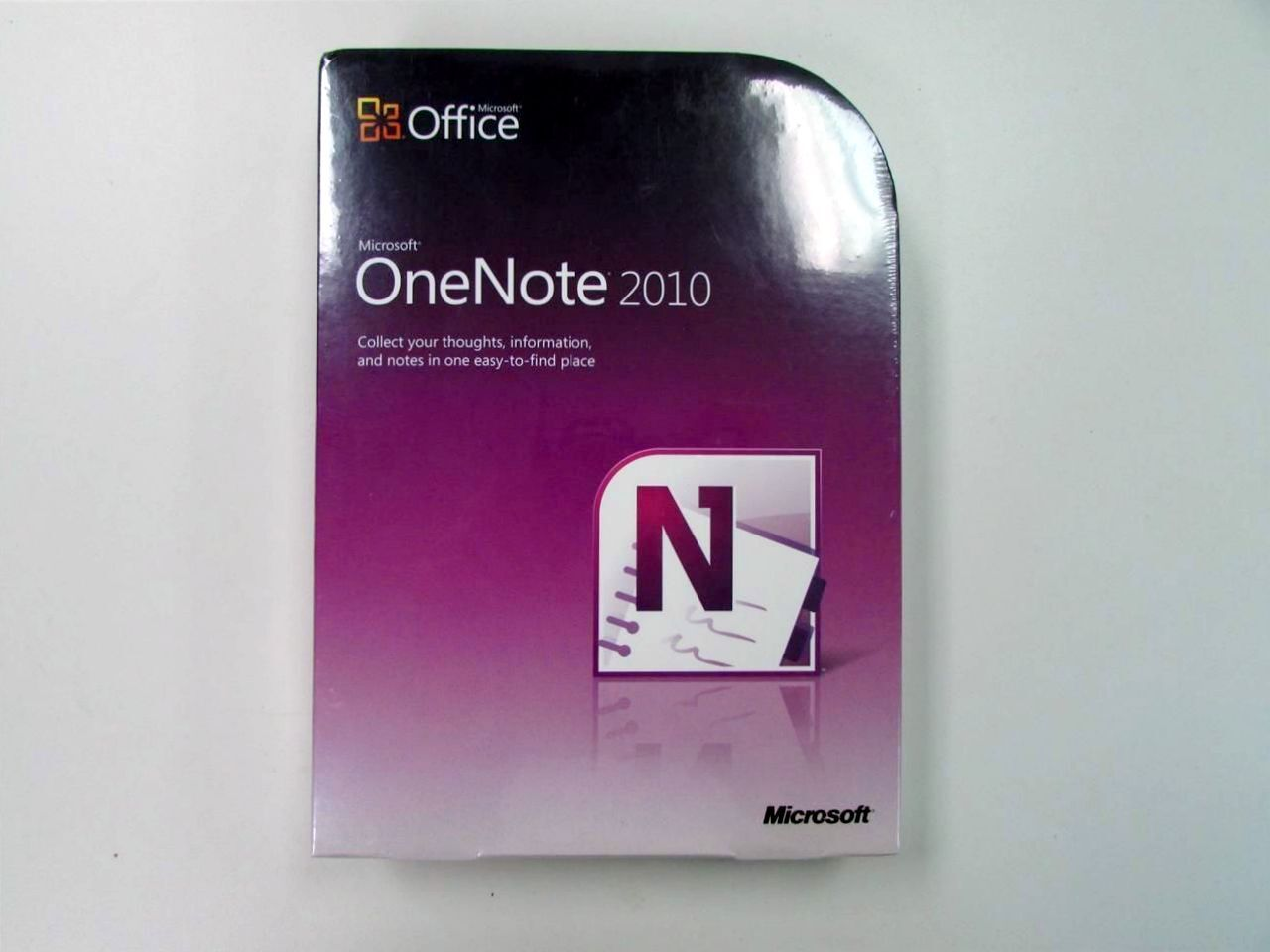 Microsoft Office Onenote 2010 Retail Box Sku: S26-04133 S...