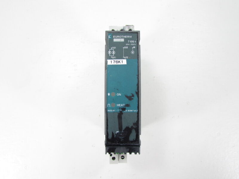 EUROTHERM 7100S CONTACTOR SOLID STATE 500V 25A