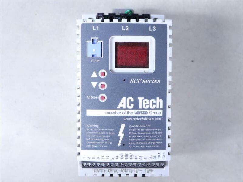 AC Tech SCF Series SF210Y Variable Speed AC Motor Drive 1HP .75kW