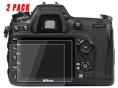 Nikon D500 Camera Screen Protector Tempered Glass for Nikon D500 2 Pack