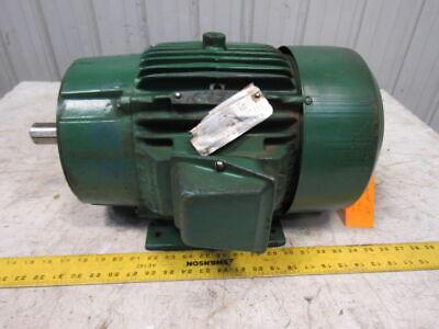 Reliance P21g1039j 10 Hp 3500 Rpm 3ph 230460v 1-38 Shaft Electric Motor 215tc