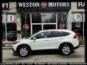 2013 Honda CR-V EX*AWD*SUNROOF*REVERSE CAM*HEATED SEATS!!*