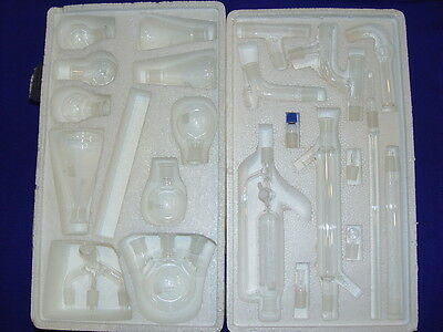 Organic Chemistry Lab Kit 22 Pieces 1922 With Case High Quality
