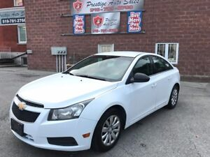 2011 Chevrolet Cruze LS - ONE OWNER - ONE YEAR WARRANTY INCLUDED