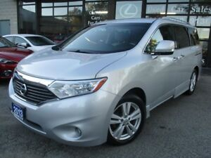 2013 Nissan Quest 3.5 SL-LETHER-CAMERA-HEATED SEATS-BLUETOTH