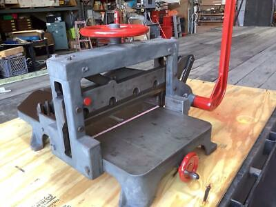 Challenge 19 Inch Hand Lever Paper Cutter. Use With Vandercook Chandler Price