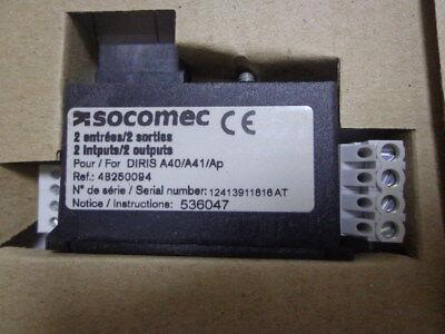 Socomec 48250094 MODULE 2 In/2 out DIRIS A