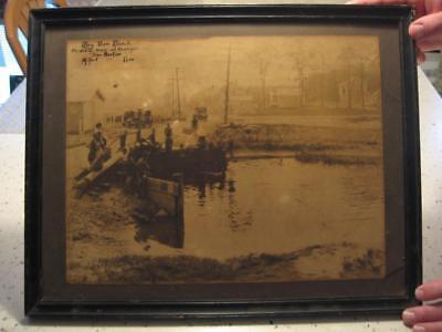 RARE BAY VIEW BEACH 11 X 14 PHOTO, MILFORD (WOODMONT), CONN
