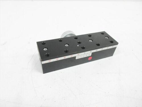 OPTO SIGMA TAR-381201UU DOVETAIL X STAGE 38×120MM 80 MM TRAVEL - NO BASE