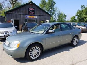 2005 Ford Five Hundred Limited Leather, Sunroof, Certified