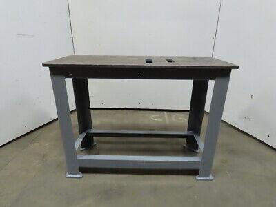 Brute Machine Base 48x20x36 Steel Welding Work Bench Table Ground 58 Top