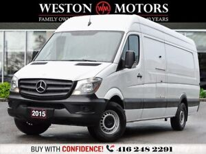 2015 Mercedes Benz Sprinter 3500*DBL EXT*HIGH ROOF*REV CAM*WOW O