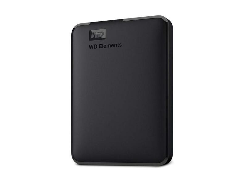 WD 5TB Elements Portable Storage USB 3.0 Model WDBU6Y0050BBK-WESN Black