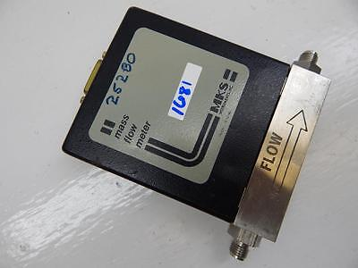 Mks Mass Flow Meter Type 258-v-100-c  Range 100 Sccm