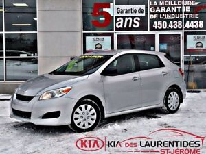 2013 Toyota Matrix 2013**AUTO**A/C**GROUPE ELECTRIQUE**BLUETOOTH