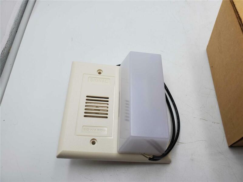Edwards audible/visual alarm 7007-n5 120 vac 70ma
