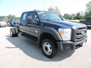 2012 Ford F-550 Cab & Chassis XL. Diesel. Crew