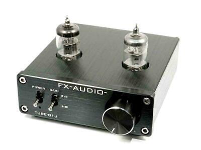 fx audio silver tube preamp line amplifier