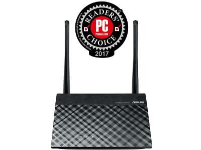 ASUS RT-N12 N300 Wi-Fi Router 2T2R MIMO Technology, 4K HD Vi