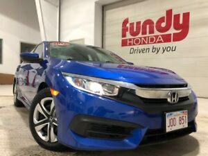2017 Honda Civic Sedan LX w/like new condition, $150.29 B/W ONE