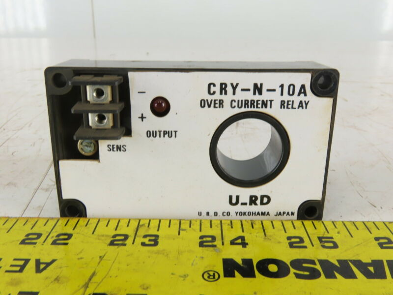 U-RD  Co. CRY-N-10A Pass Thru Over Current Relay