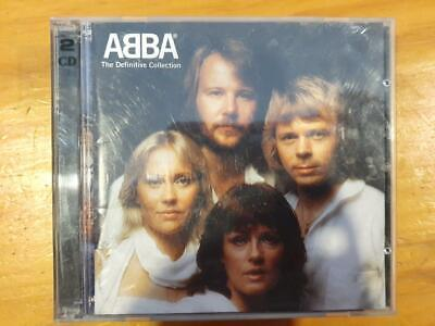 ABBA The Definitive Collection CD used FREEPOST IN AUSTRALIA