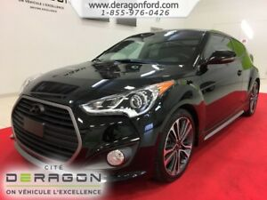 2016 Hyundai Veloster TURBO NAVIGATION CUIR TOIT PANO MAGS TURBO